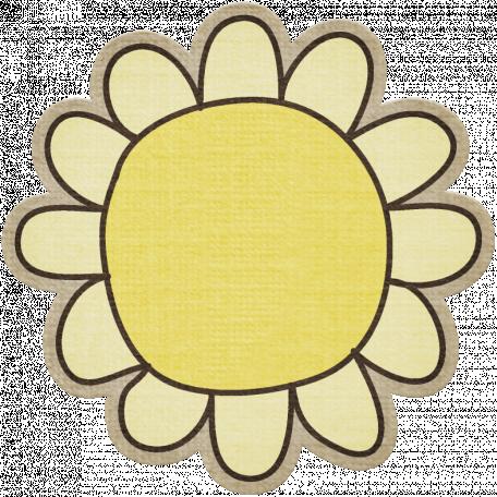 Laundry Flower 002 - Yellow