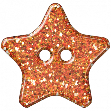 DSF Aug 2012 Button - Star Orange
