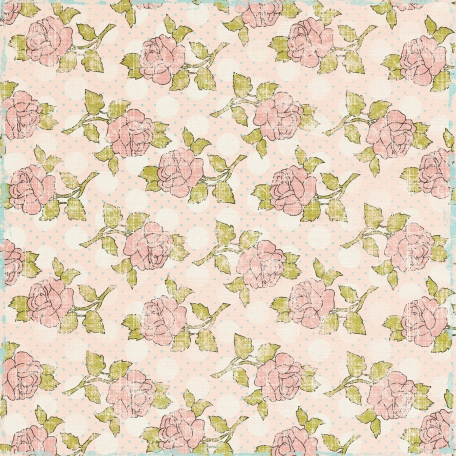 Pretty Things Pink Floral Paper