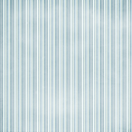 Stripes 37 Paper - Blue
