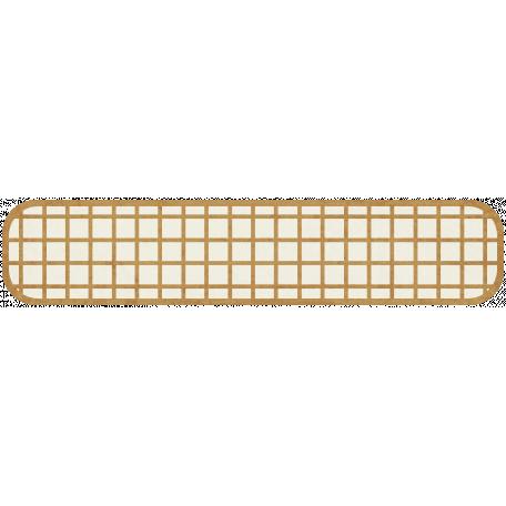 Tag Shape 110 - Golden