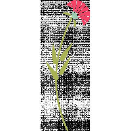 Flower Illustration 019 -Pink