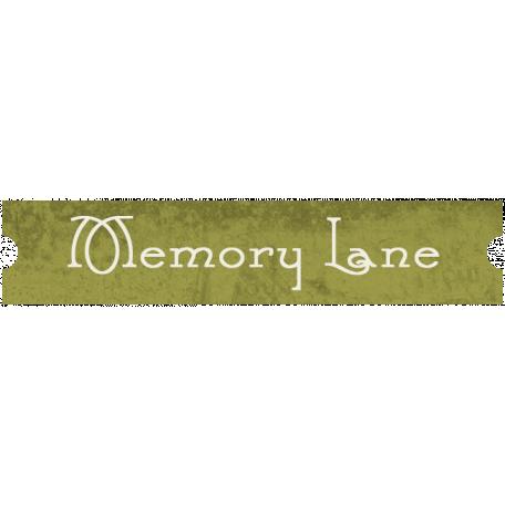 Family Tag - Memory Lane
