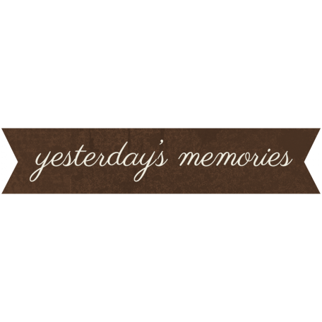 Family Tag - Yesterday's Memories