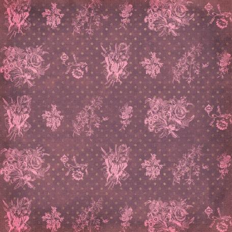 Floral 32 - Purple