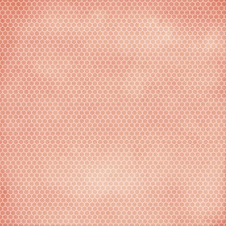 Family Game Night Pink Polka Dot Paper
