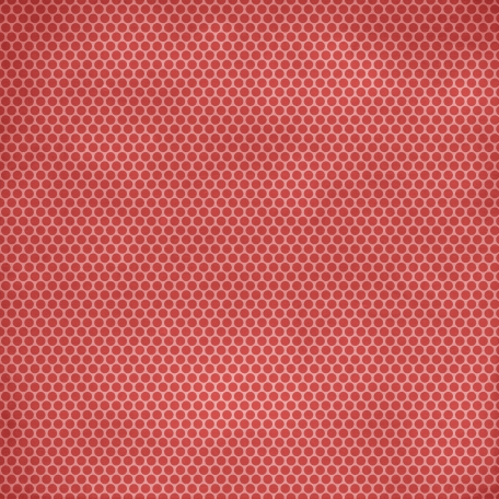 Family Game Night Polka Dot Paper - Red