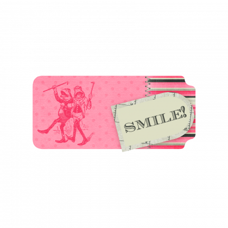 Smile Frog Tag