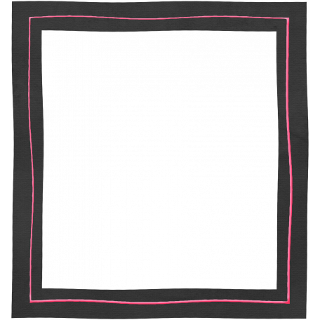 Frame Shape 50 - Black & Pink