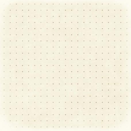 Polka Dots 34 - White & Tan
