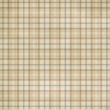 Plaid 25 Paper - Tan