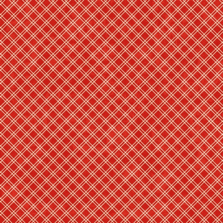 Plaid 26 - red