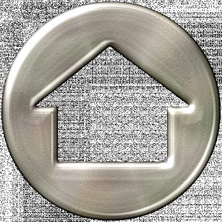 Khaki Scouts Silver Arrow Button