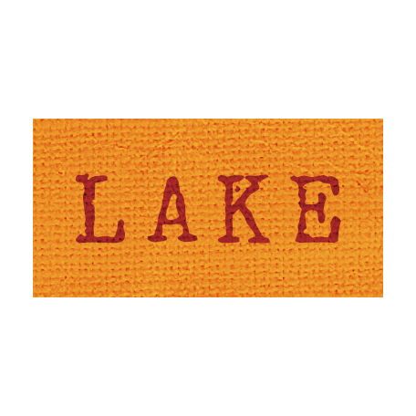 Khaki Scouts Label - Lake