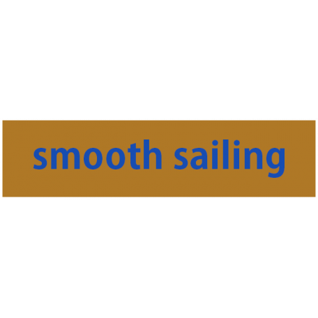 Mix & Match Label - Smooth Sailing