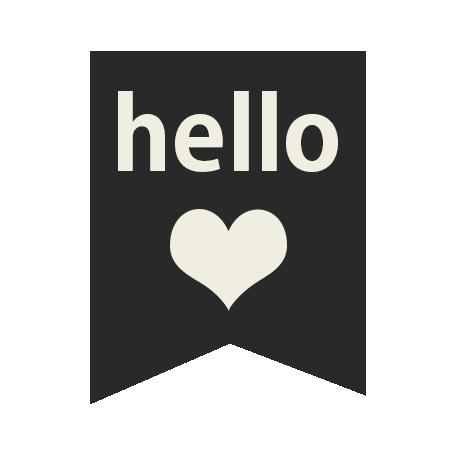 Mix & Match Label - Hello Love