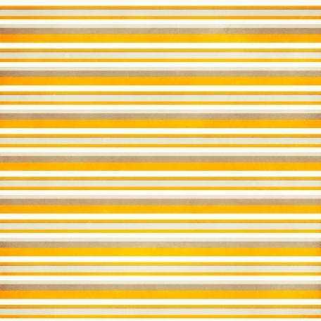 Stripes 39 Paper - Orange & Brown