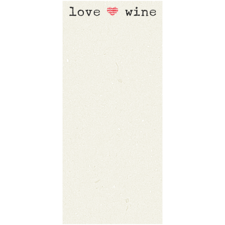 Boozy Wine Journal Block - Love Wine