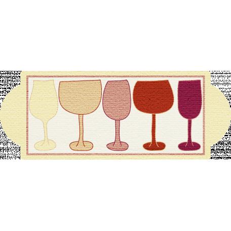 Boozy Wine Tag 73 - Wine Glasses