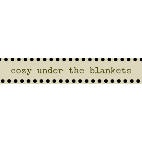 Argyle Buttons Tags - Cozy Under The Blankets