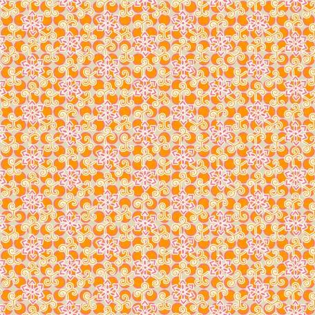 Floral 35 - Orange