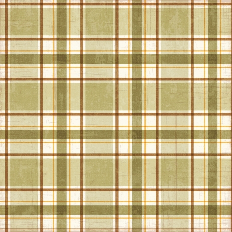 Plaid 27 Paper - Tan