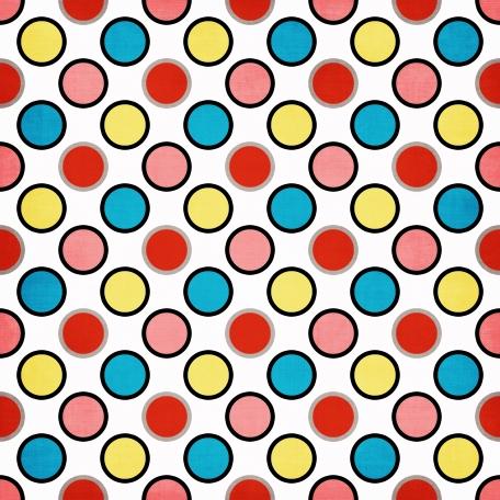 Shellfish - paper circles