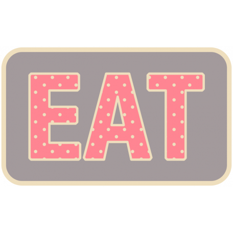Thanksgiving Words - Eat