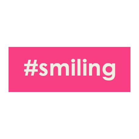 Brighten Up Label - #Smiling