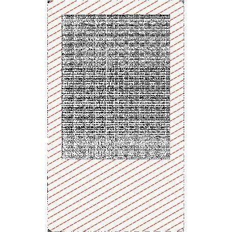 Smile Pretty Frame - Dashed Diagonals