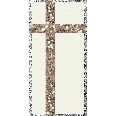 Hanukkah Present - White & Light Gold