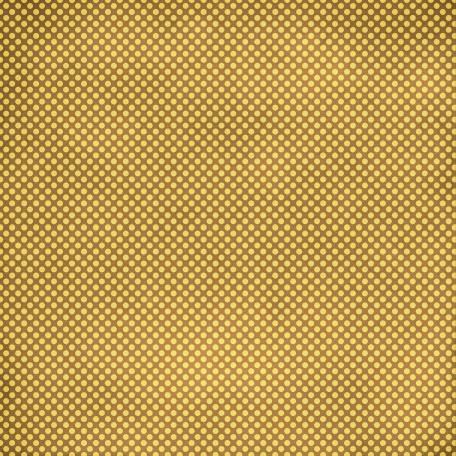 Polka Dots 36 Paper - Brown & Yellow