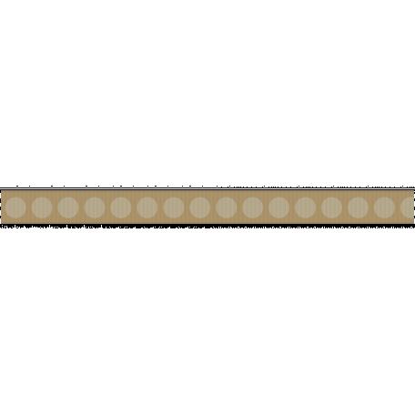 Fat Ribbon - Polka Dots 01 - Tan