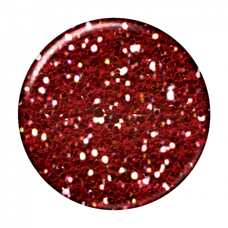 Red Glitter Brad (Malaysia)