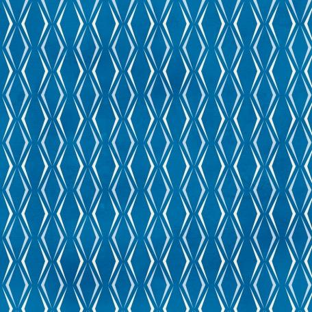 Pattern 86 - Blue Paper