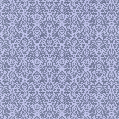 Lake District - Damask Paper - Purple