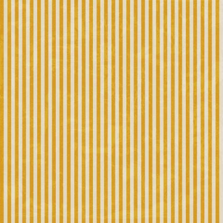 Stripes 54 - Gold & White Paper