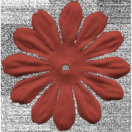 Venice Flower - Maroon