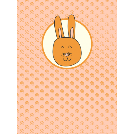 Chinese New Year Zodiac Journal Card - Rabbit