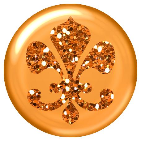 Versailles Fleur Brad - orange