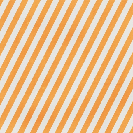 Stripes 89 - Orange & White