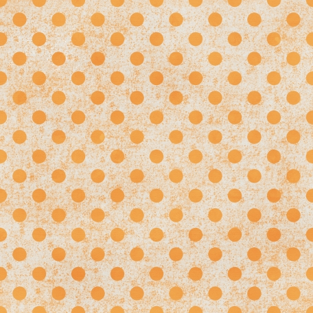 Polka Dots Paper 35 - Orange & White