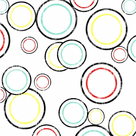 Circles 12 Paper - White & Black