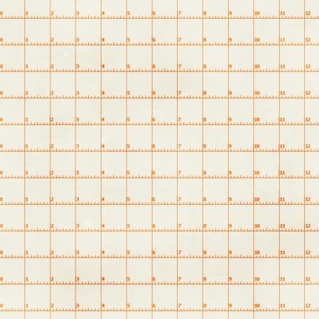 Grid 08 Paper - Orange