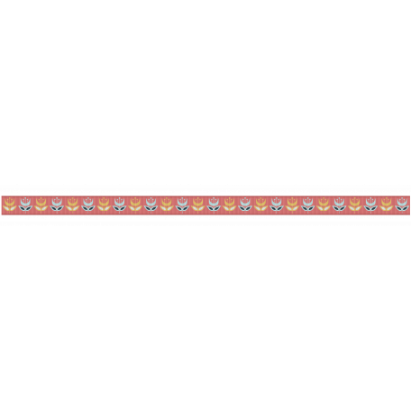 Medium Ribbon - Floral - Coral