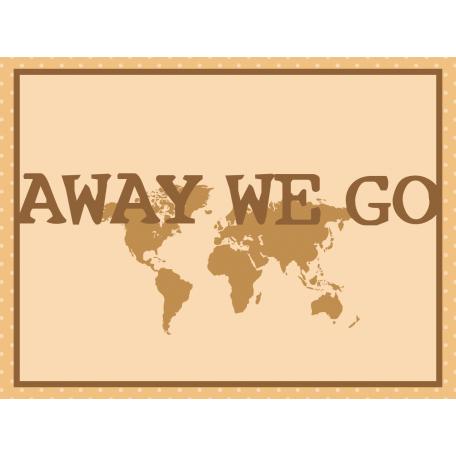 Egypt - Away We Go Journal Card