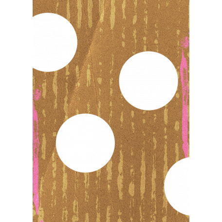Egypt Scrap - Brown With Punched Holes