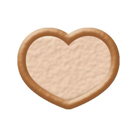 Oceanside Shape - Two Tone Heart