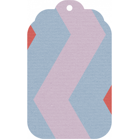 DSA Jan Blog Train Tag - Large Chevron