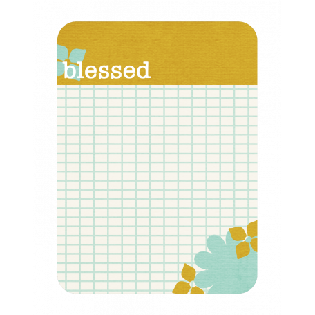 Blessed Journal Tag